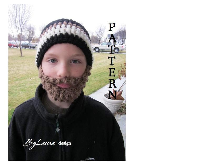 PATTERNPreteen Bearded Beanie image 0