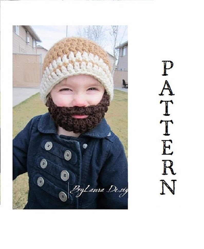 PATTERNKids ULTIMATE Bearded Beanie image 0