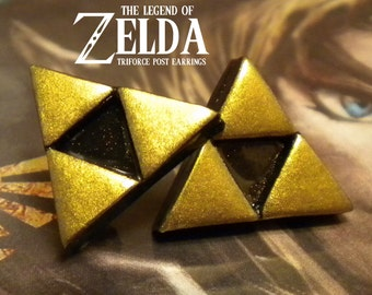 Triforce Post Earrings - Legend of Zelda - Nintendo