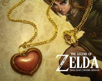 Twilight Princess Small Heart Container Necklace - Legend of Zelda - Nintendo
