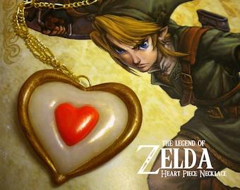 Twilight Princess Heart Piece Necklace - Legend of Zelda - Nintendo