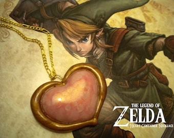 Twilight Princess Heart Container Necklace - Legend of Zelda - Nintendo