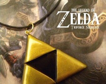 Triforce Necklace - Legend of Zelda - Nintendo