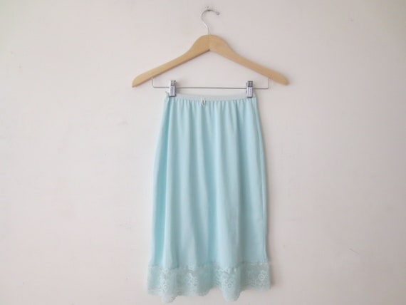 Intimates & Sleep Vtg Snowdon White Half Slip Dress Size Small