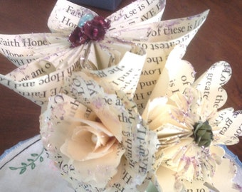 Personalized Origami Paper Flowers A Gift That Says Exactly How You Feel For That Special Someone