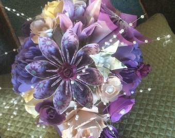 Origami Bouquets/Wedding