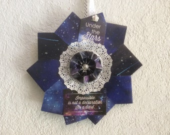Night Sky Wall Decor Gift for Achievers and Believers