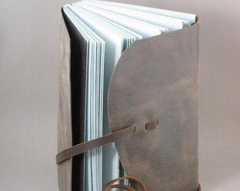 Leather Journal / Sketchbook - Grande
