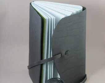 Leather Journal / Sketchbook - Slim