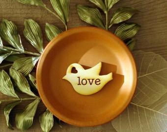 120 Wood Bird Wedding Favors Love Bird Favors Personalized