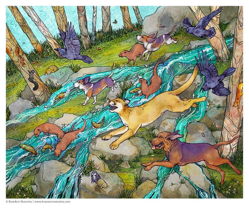 Wild Parade // 16x20 Print image 0