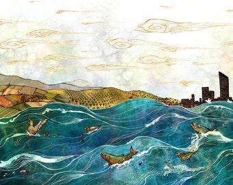 The Grand River // 11x17 Print