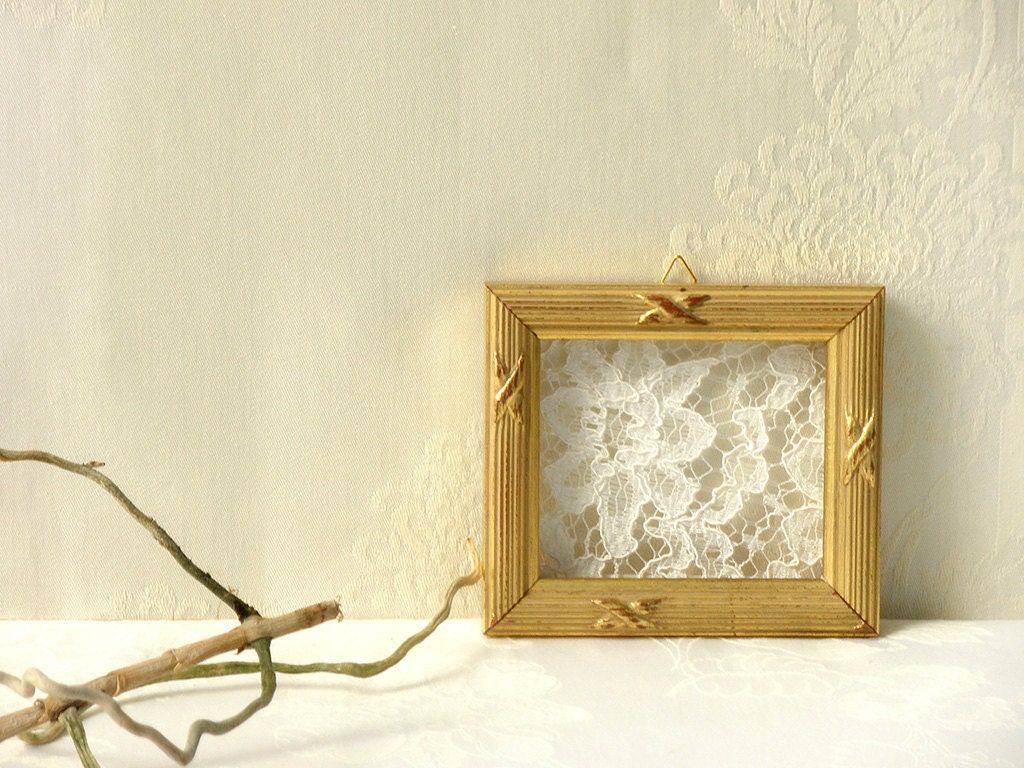 Decor lace gift, Antique Crochet Lace, Wall art , Rustic wall ...