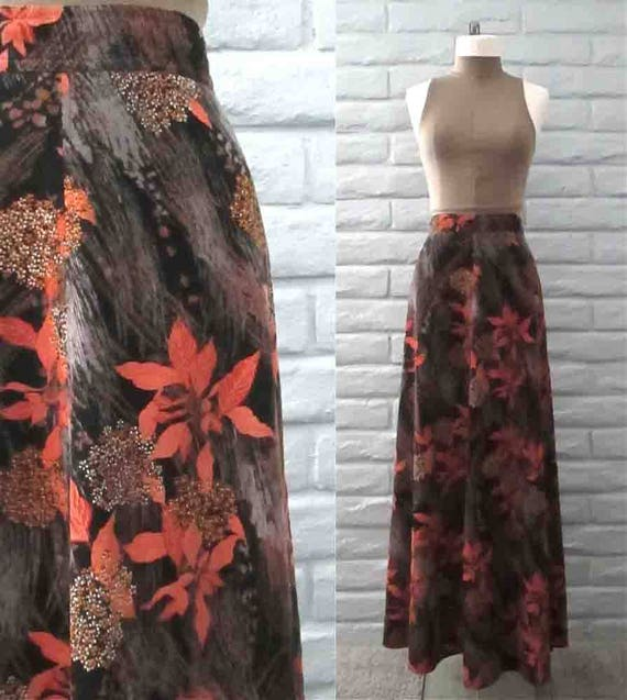 Vintage 1960's corduroy skirt SAKS FIFTH AVENUE au