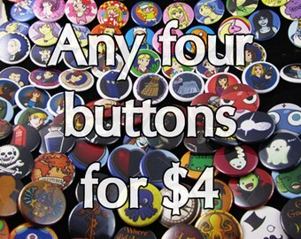 Any four buttons