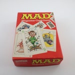 Vintage Mad Magazine Card Game, 1979, Parker Brothers, Complete, 70s Card Games, Family Game Night