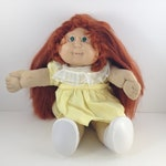 Cabbage Patch Kids Doll, 1982, Red Hair, Green Eyes, 80s Doll, 80s Toys