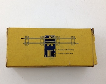 "Vintage American Flyer Remote Uncoupler, #706, S Gauge, For 3/16"" Trains, with Original Box"