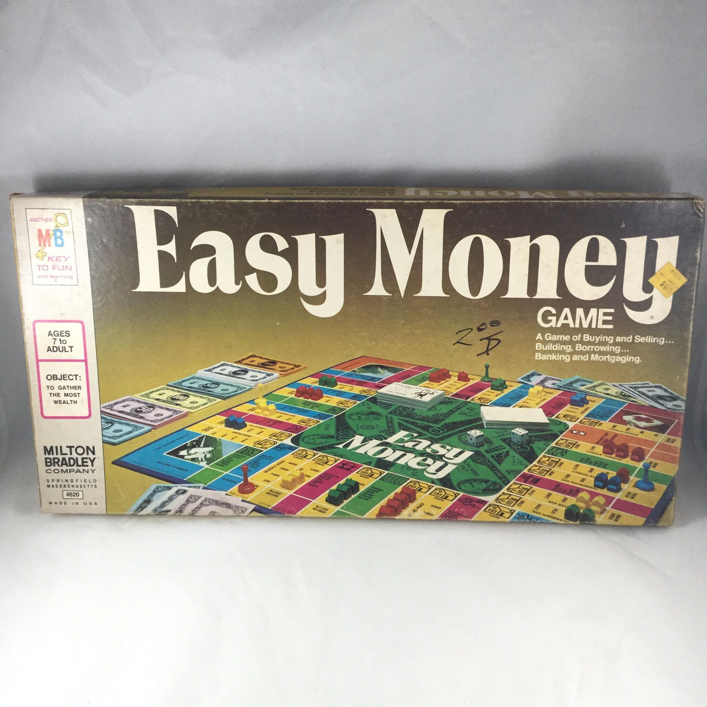 zoom Vintage Easy Money Board Game by
