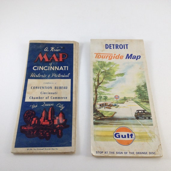 Lot of 2 Vintage Road Maps Cincinnati, Ohio 1942 and Detroit, Michigan Driving Map Of Ohio on cities in central ohio, road map of eastern ohio, bucyrus bratwurst festival ohio, map of i 70 in ohio, detailed map of ohio, us state map ohio, train map of ohio, large maps of ohio, usa map ohio, all cities in ohio, basic map of northwest ohio, rand mcnally map of ohio, downloadable maps of ohio, employment map of ohio, i-90 map ohio, map of greenfield ohio, weather painesville ohio, street map of tallmadge ohio, driving map kentucky, driving map connecticut,