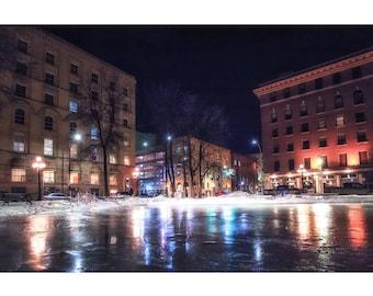 Exchange on Ice