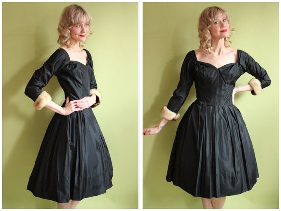 1950s Dress // Life of the Party Suzy Perette Dres