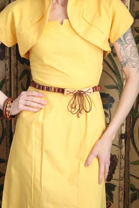 Early 1940s Dress // Eternal Sunshine Dress & Bol… - image 4
