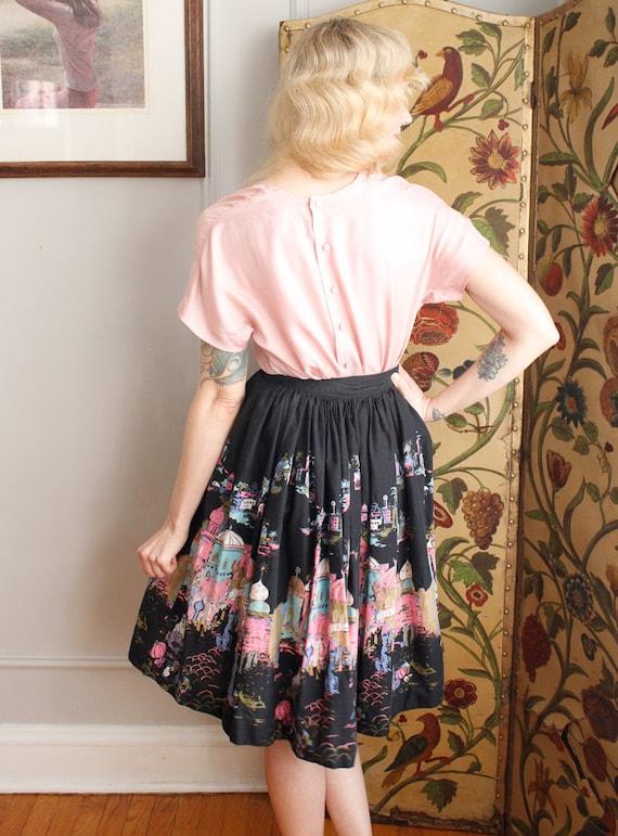 1950s Blouse // Best & Co Pink Silk Blouse // vin… - image 7