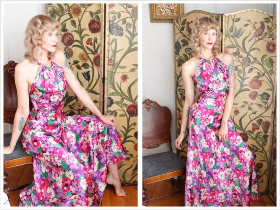 1930s Gown // Silverscreen Starlet Silk Gown // vi