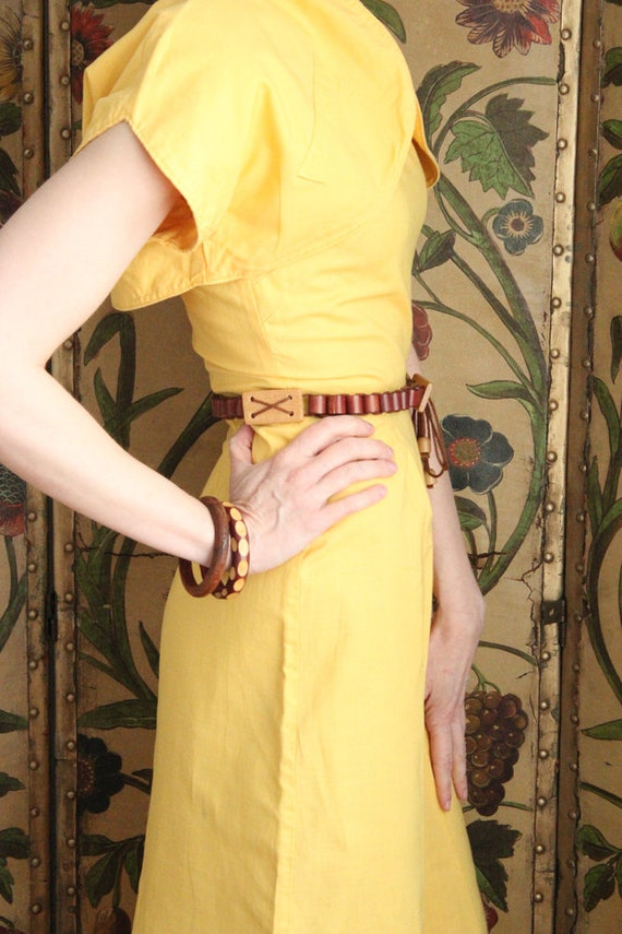 Early 1940s Dress // Eternal Sunshine Dress & Bol… - image 7