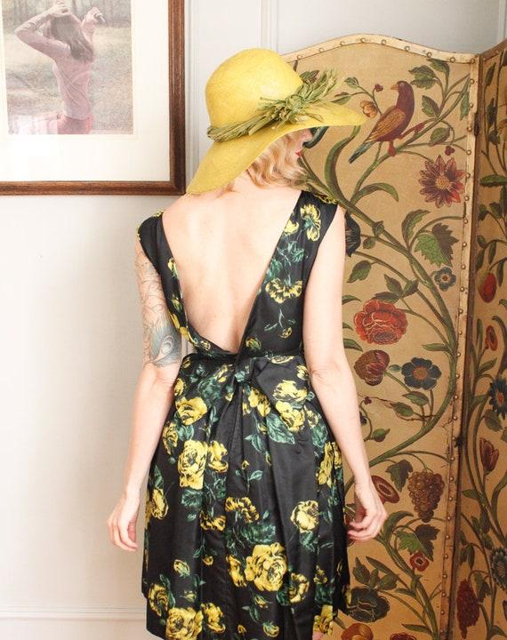 1970s Hat // IMagnin Straw Chartreuse Summer Hat … - image 7