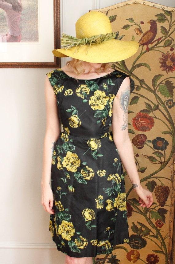1970s Hat // IMagnin Straw Chartreuse Summer Hat … - image 8