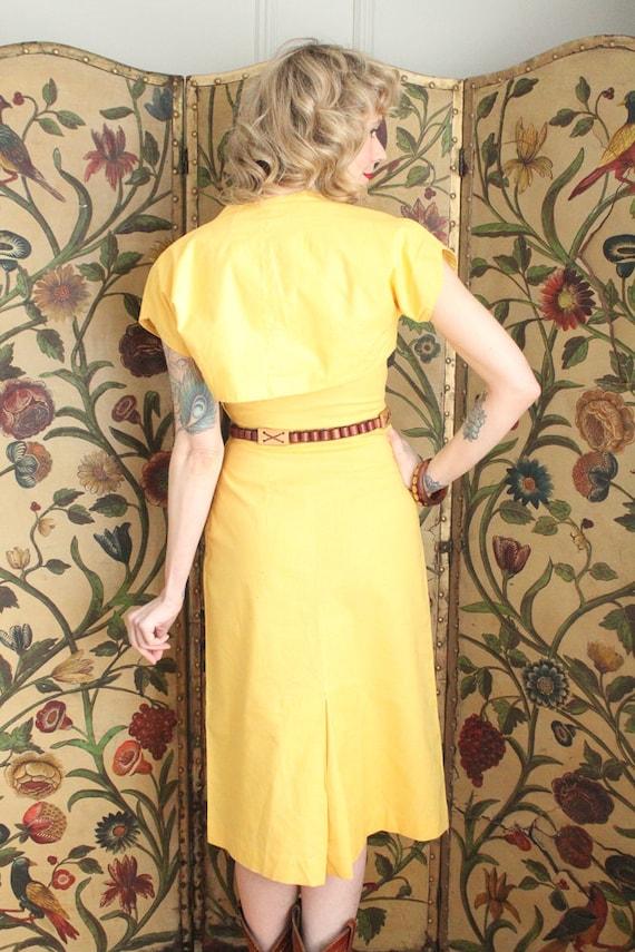 Early 1940s Dress // Eternal Sunshine Dress & Bol… - image 10