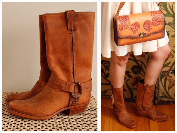 1990s Boots // Code West NOS Cowboy Boots // vinta