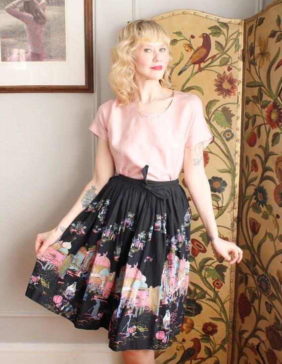 1950s Blouse // Best & Co Pink Silk Blouse // vin… - image 9