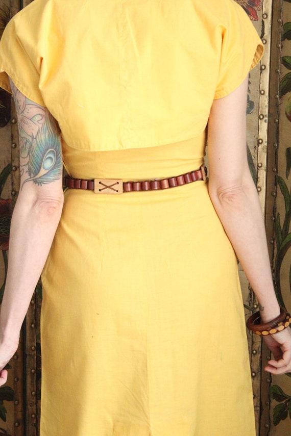 Early 1940s Dress // Eternal Sunshine Dress & Bol… - image 9