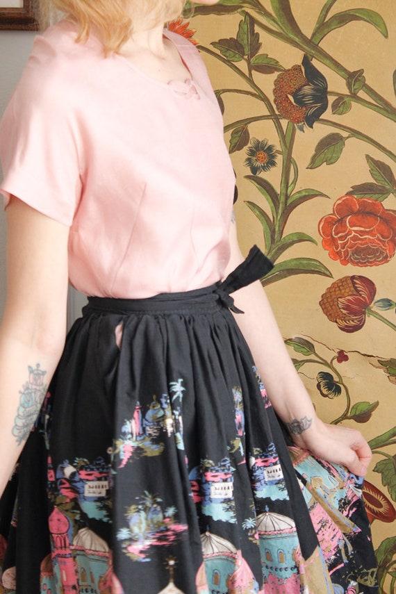 1950s Blouse // Best & Co Pink Silk Blouse // vin… - image 6