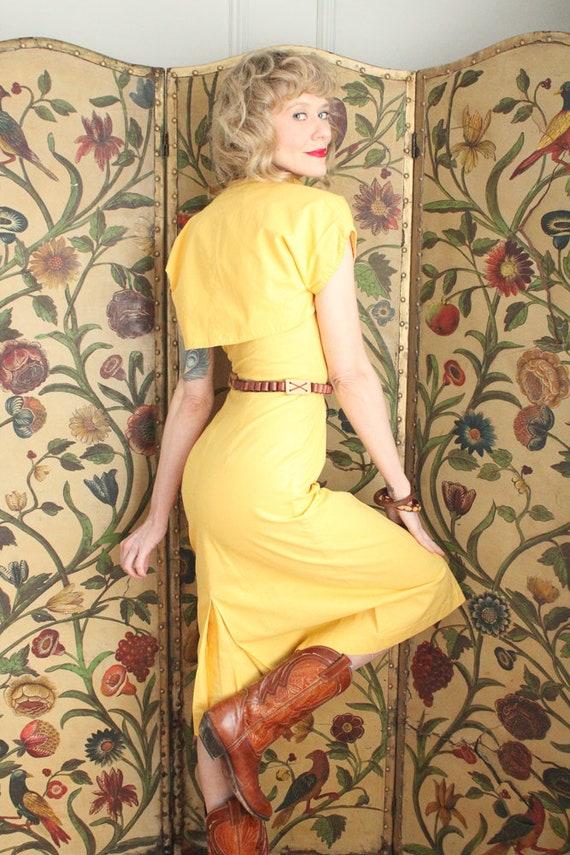 Early 1940s Dress // Eternal Sunshine Dress & Bol… - image 6