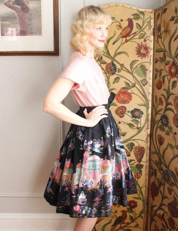 1950s Blouse // Best & Co Pink Silk Blouse // vin… - image 5