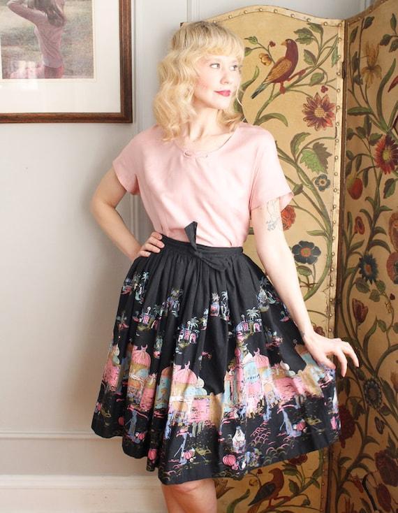 1950s Blouse // Best & Co Pink Silk Blouse // vin… - image 4