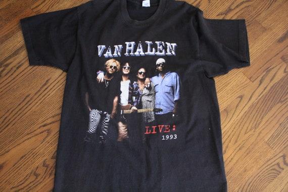 Van Halen 1993 World Tour Vintage Concert T-shirt
