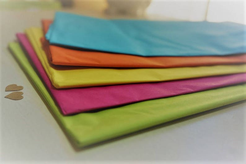 Tissue Paper Quality Acid Free Large Wrapping Sheets 500 x 750mm