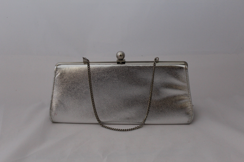 0f6e2fa9d5cc Vintage Silver Bag