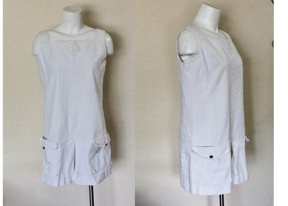 Vintage Romper / Vintage Jumpsuit / Short Romper /