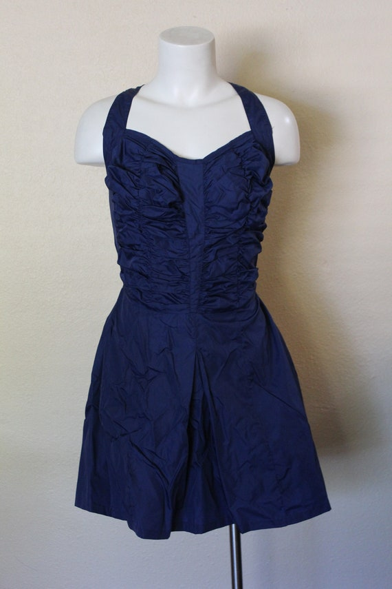 Vintage 1950s Swimsuit / 1950s Skirted Swimsuit /… - image 2