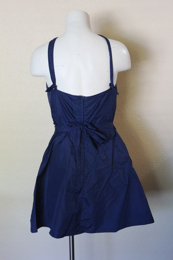 Vintage 1950s Swimsuit / 1950s Skirted Swimsuit /… - image 4