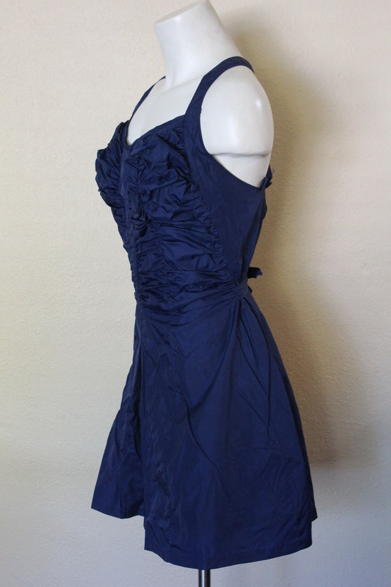 Vintage 1950s Swimsuit / 1950s Skirted Swimsuit /… - image 3