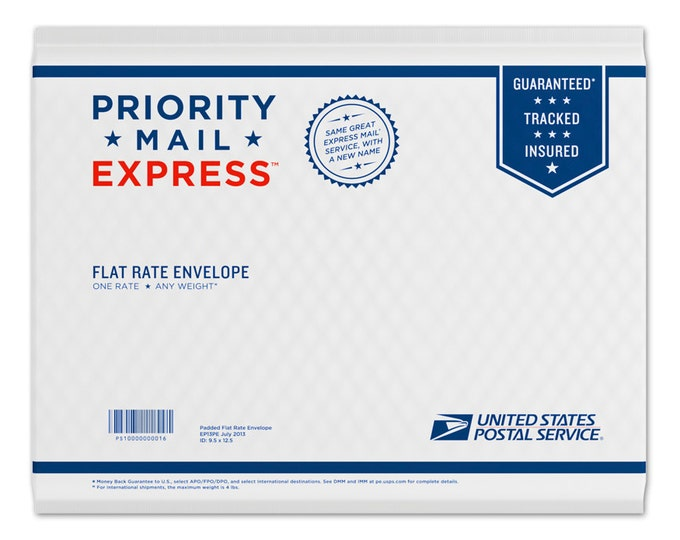 Priority Mail EXPRESS 1-2 day shipping upgrade