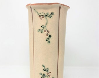 Mountaine Meadows Pottery Ceramic Vase Made in Vermont