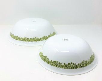 Corelle Large and Medium Spring Blossom Bowls - Hostess Ware